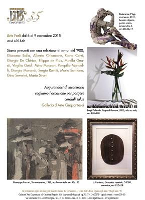 La Galleria d'Arte Cinquantasei tra i protagonisti di Arte Forlì