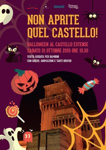 Non aprite quel Castello 'Halloween' al Castello Estense