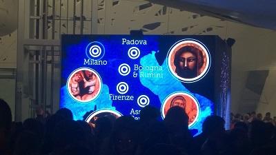 Padiglione Italia con la mostra dedicata a Giotto