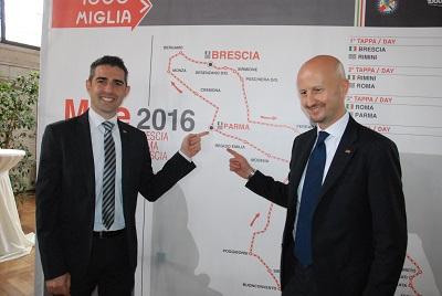 Parma arriva la Mille Miglia 2016
