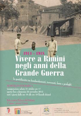 Vivere a Rimini negli anni della grande guerra