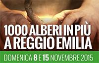 1000 alberi in più a Reggio Emilia