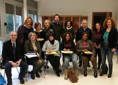 Delegazione belga a Forlì