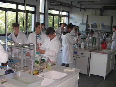 Fermi laboratorio chimica