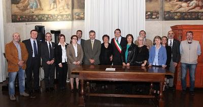 Modena, premiazione dei 12 nuovi Maestri del Lavoro
