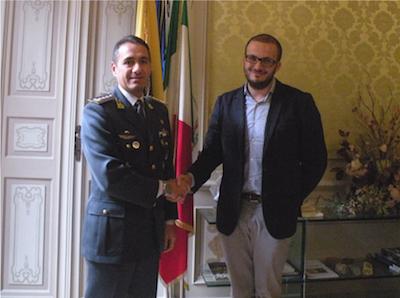 Prima visita ufficiale del Comandante della GdF in Provincia