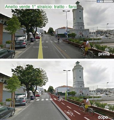 Rimini, Anello Verde al via il lavori per la realizzazione della pista ciclabile