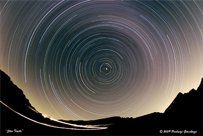 Star Trails foto di pierluigi giacobazzi