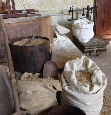 grano a Villa Sorra
