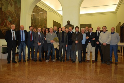presenti alla sottoscrizione protocollo per candidatura Parma
