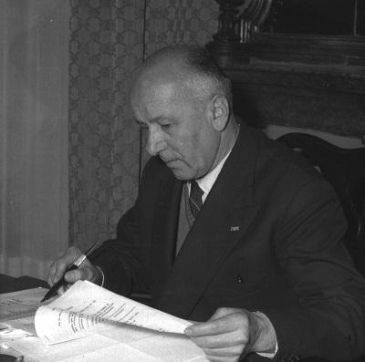 Alfeo Corassori sindaco di Modena