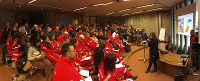 Bastiglia (MO) 120 volontari al corso di protezione civile organizzato dalla Croce rossa italiana