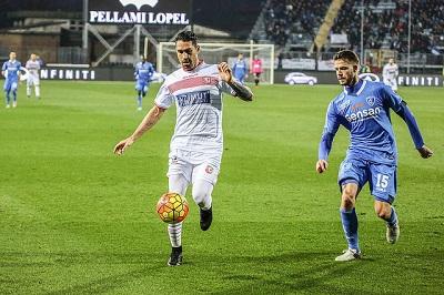Borriello in Empoli-Carpi 3-0