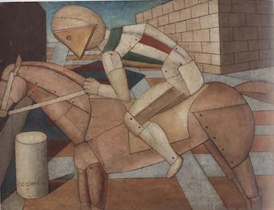 Carlo Carra - Il cavaliere dello spirito occidentale- 1917