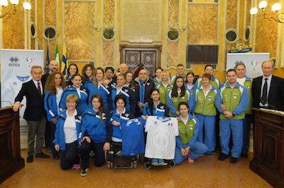 Doppia sfida fra le nazionali di Italia e Slovenia di sitting volley