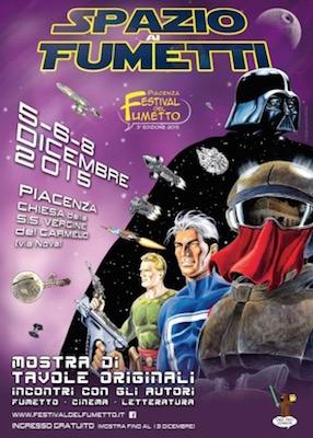 Festival del Fumetto di Piacenza dal 5 al 13 dicembre