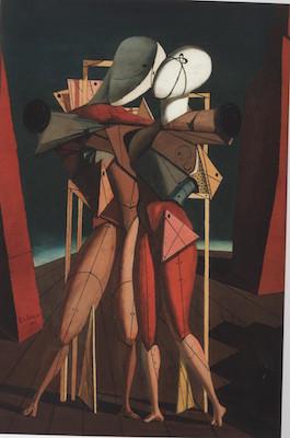 Giorgio de Chirico - Ettore e Andromaca- 1917