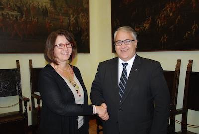 Incontro della vicesindaco Nicoletta Paci con Viorel Badea