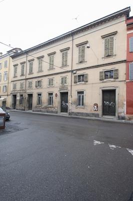 La facciata del Sigonio in via Saragozza