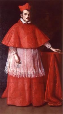Ottavio Leoni- ritratto del Cardinale Ludovico Ludovisi -1624