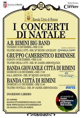 Rimini i concerti di Natale