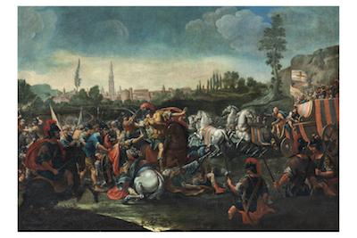 cattura di re enzo -prima meta sec. XVIII- Universita degli studi Modena