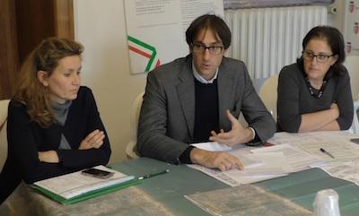 conferenza stampa impianti Rimini