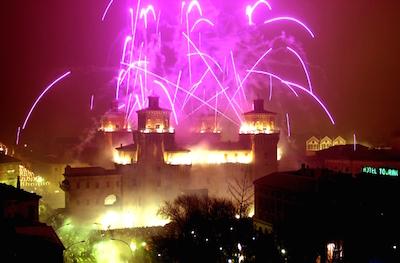 fuochi castello Ferrara