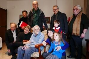 gli auguri del sindaco a Giovanni Sesani, storico docente del Lettimi