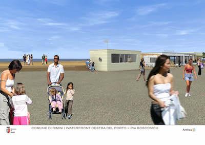 progetto esecutivo per la realizzazione della Casa dei matrimoni in piazzale Boscovich
