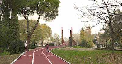 sovrappasso ciclopedonale via roma 03 rampa a monte
