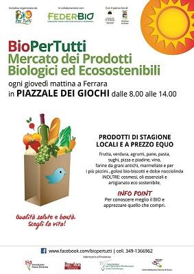 BioPerTutti a Ferrara
