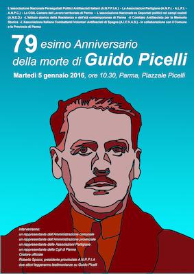 Commemorazione 79 esimo anniversario della morte di Guido Picelli.
