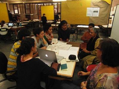 Gruppi di lavoro al workshop