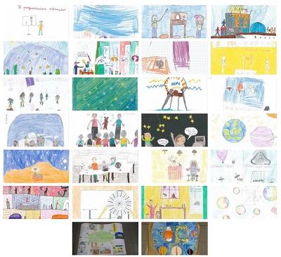 I disegni vincenti del Concorso Disegna Porte Aperte