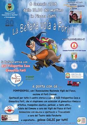 La Befana vola a Forlì