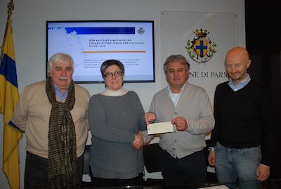 Mille euro dagli organizzatori del Villaggio di Babbo Natale