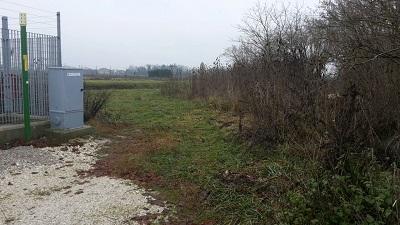 Tresigallo rifiuti area ripulita
