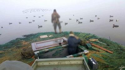 caccia illegale a Comacchio e Argenta
