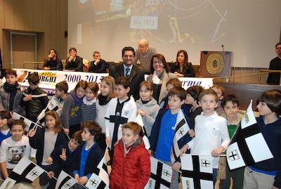 i premiati di Natale in Vetrina Crociata 2015