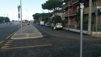 Apre il prolungamento di via Roma a Miramare