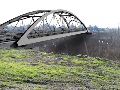 Bomporto ponte nuovo rendering
