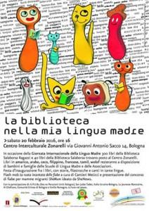 La biblioteca nella mia lingua madre