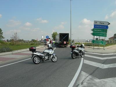 autotrasportatore sanzionato a Piacenza