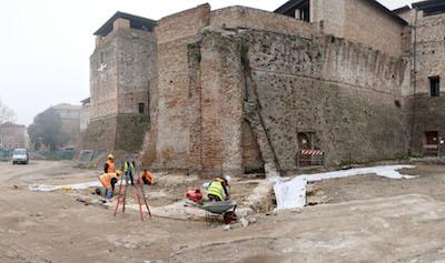 castelsimsondo scavi archeologici Panorama