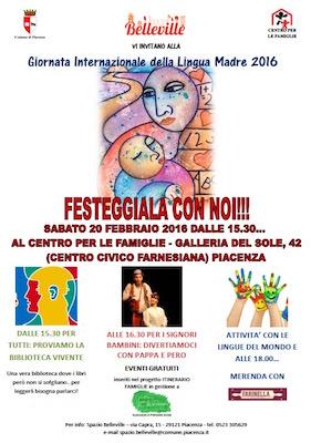 giornata internazionale della lingua madre 2016