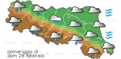 meteo su Emilia Romagna