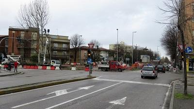 nuova rotatoria tripoli roma inizio lavori