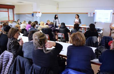personale di cucina delle scuole comunali