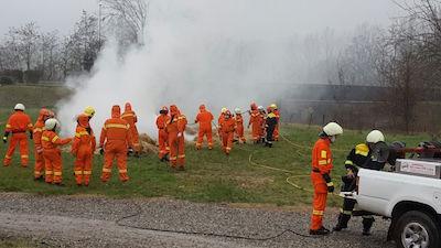 Antincendio boschivo, giornata informativa a Vezzano